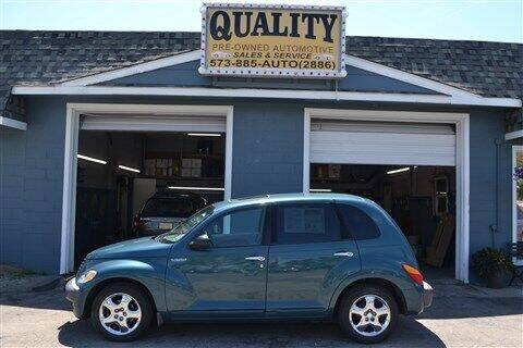 2001 Chrysler PT Cruiser for sale at Quality Pre-Owned Automotive in Cuba MO