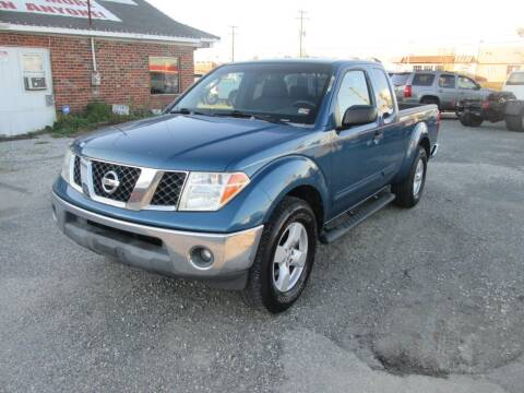 2005 Nissan Frontier for sale at Wally's Wholesale in Manakin Sabot VA