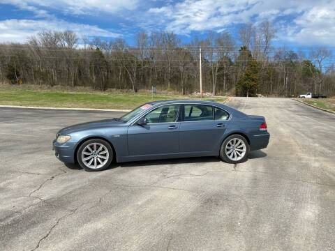 2008 BMW 7 Series for sale at Tennessee Valley Wholesale Autos LLC in Huntsville AL