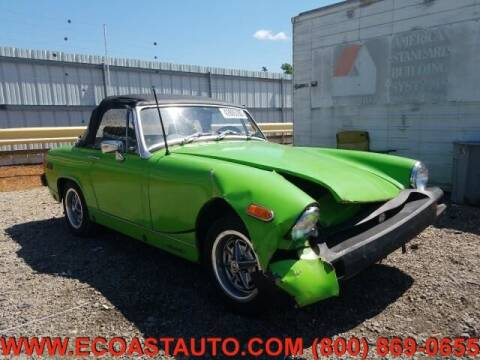 1975 MG Midget for sale at East Coast Auto Source Inc. in Bedford VA