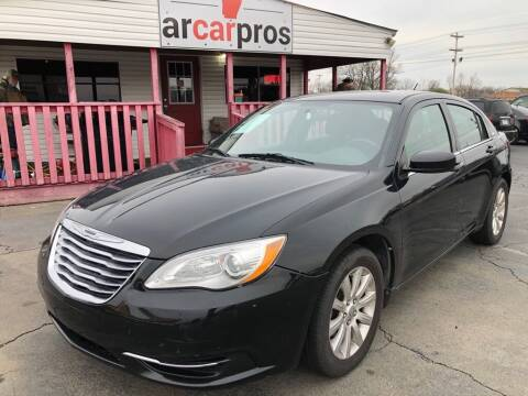 2013 Chrysler 200 for sale at Arkansas Car Pros in Cabot AR