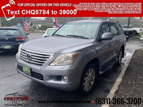 2008 Lexus LX 570 for sale at CERTIFIED HEADQUARTERS in St James NY