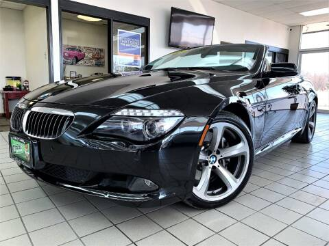 2009 BMW 6 Series for sale at SAINT CHARLES MOTORCARS in Saint Charles IL