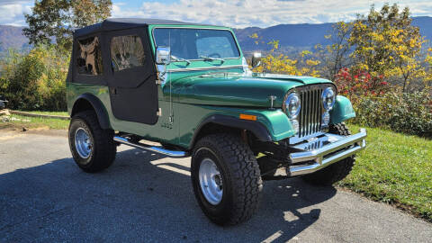 1981 Jeep CJ-7 for sale at Rare Exotic Vehicles in Asheville NC