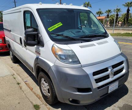 2014 RAM ProMaster Cargo for sale at ZOOM CARS LLC in Sylmar CA