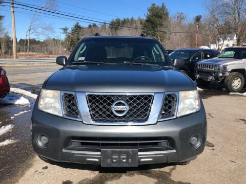 2008 Nissan Pathfinder for sale at Royal Crest Motors in Haverhill MA