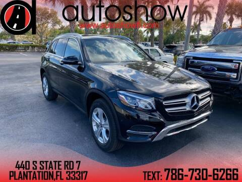 2018 Mercedes-Benz GLC for sale at AUTOSHOW SALES & SERVICE in Plantation FL