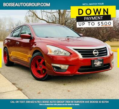 2015 Nissan Altima for sale at Boise Auto Group in Boise ID