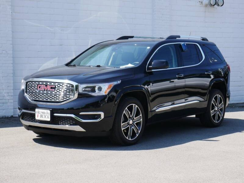 2019 GMC Acadia for sale in Columbiana, OH