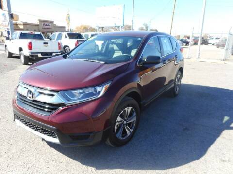 2018 Honda CR-V for sale at AUGE'S SALES AND SERVICE in Belen NM