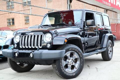 2016 Jeep Wrangler Unlimited for sale at HILLSIDE AUTO MALL INC in Jamaica NY