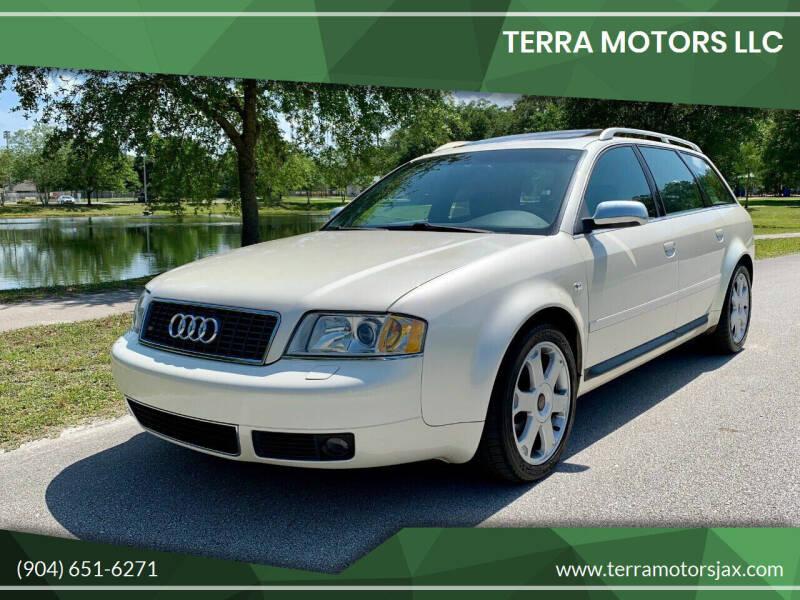 2002 Audi S6 for sale at Terra Motors LLC in Jacksonville FL