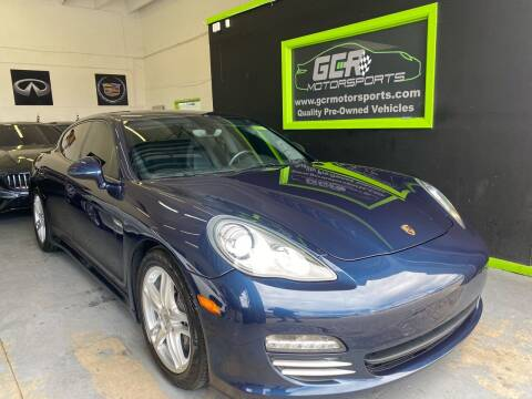 2011 Porsche Panamera for sale at GCR MOTORSPORTS in Hollywood FL