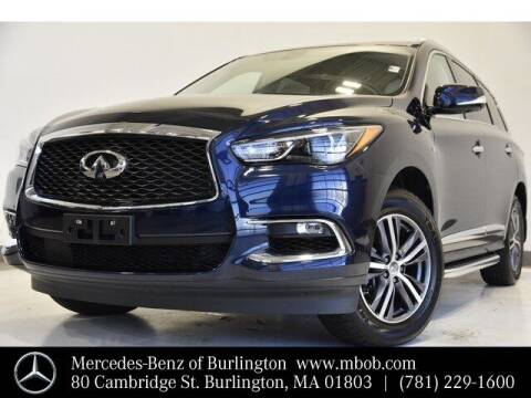 2017 Infiniti QX60 for sale at Mercedes Benz of Burlington in Burlington MA