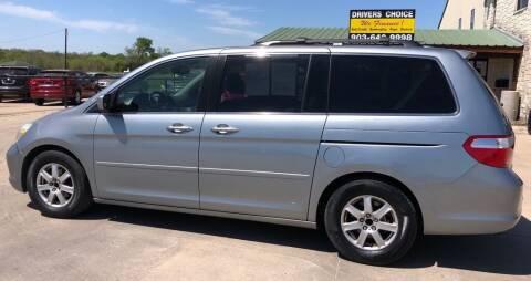 2006 Honda Odyssey for sale at Driver's Choice Sherman in Sherman TX