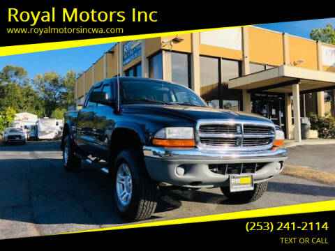 2004 Dodge Dakota for sale at Royal Motors Inc in Kent WA