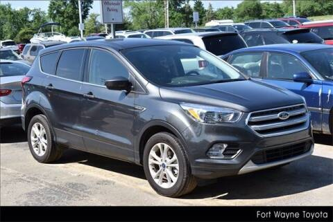 2019 Ford Escape for sale at BOB ROHRMAN FORT WAYNE TOYOTA in Fort Wayne IN