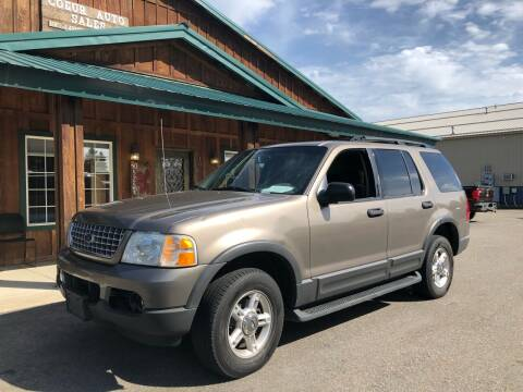 2003 Ford Explorer for sale at Coeur Auto Sales in Hayden ID