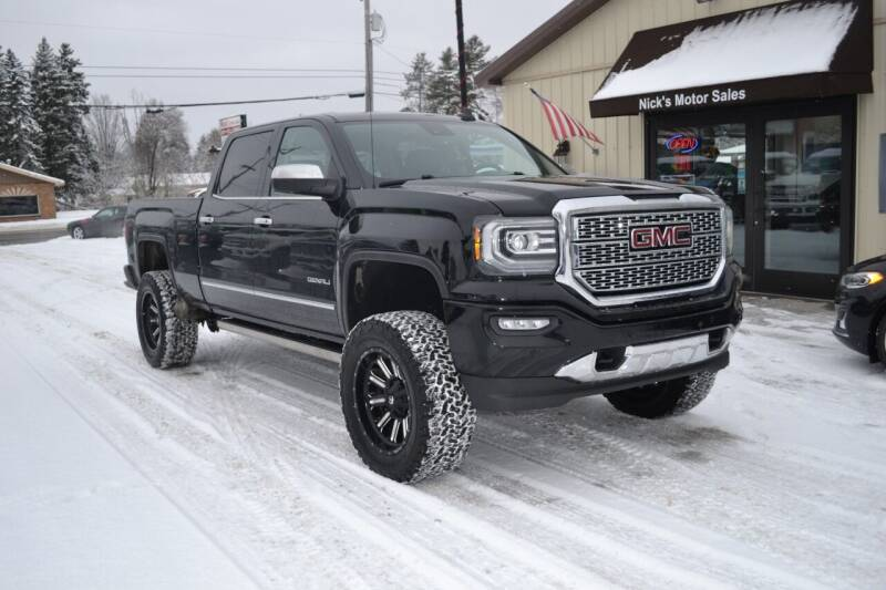 2017 GMC Sierra 1500 for sale at Nick's Motor Sales LLC in Kalkaska MI