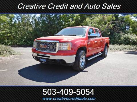 2011 GMC Sierra 1500 for sale at Creative Credit & Auto Sales in Salem OR