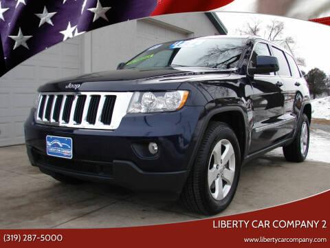 2012 Jeep Grand Cherokee for sale at Liberty Car Company - II in Waterloo IA