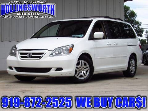 2007 Honda Odyssey for sale at Hollingsworth Auto Sales in Raleigh NC