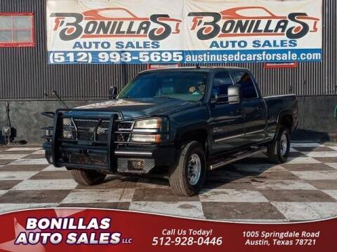 2007 Chevrolet Silverado 2500HD Classic for sale at Bonillas Auto Sales in Austin TX