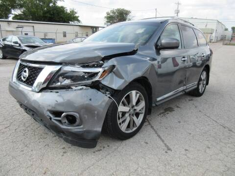 2015 Nissan Pathfinder for sale at Grays Used Cars in Oklahoma City OK