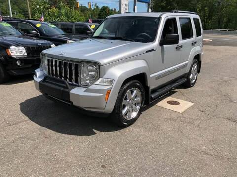 2008 Jeep Liberty for sale at TOLLAND CITGO AUTO SALES in Tolland CT