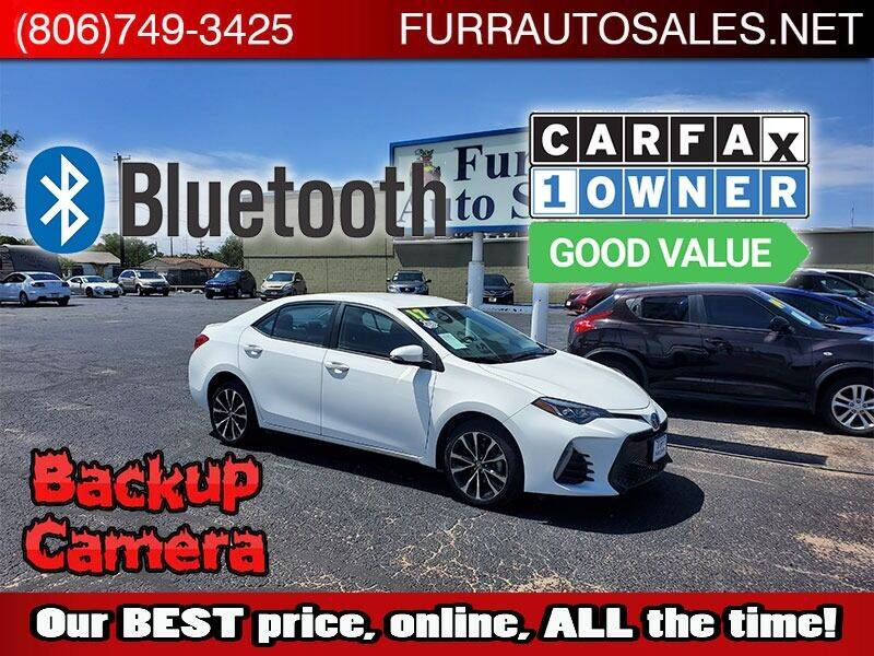 2017 Toyota Corolla for sale at FURR AUTO SALES in Lubbock TX