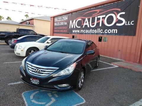 2012 Hyundai Sonata for sale at MC Autos LLC in Pharr TX