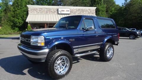 1995 Ford Bronco for sale at Driven Pre-Owned in Lenoir NC