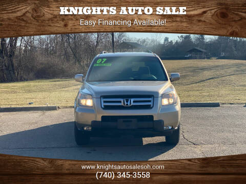 2007 Honda Pilot for sale at Knights Auto Sale in Newark OH