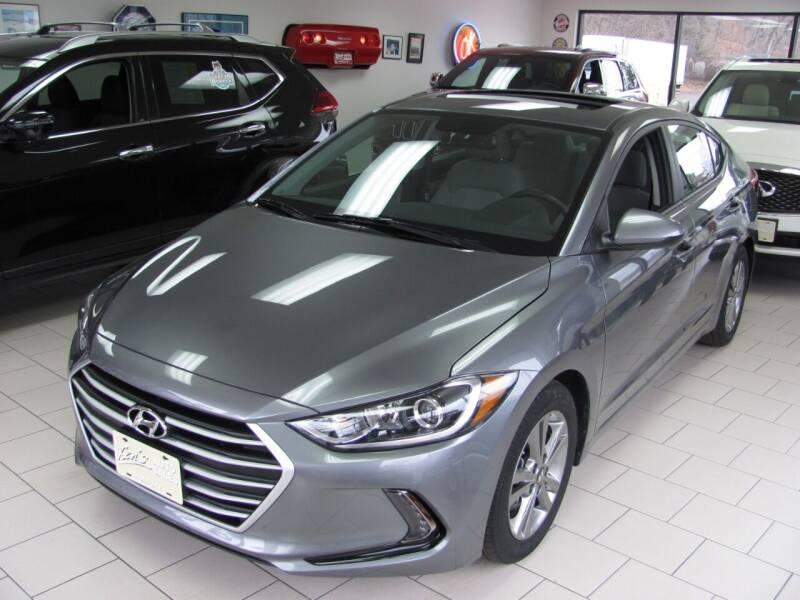 2018 Hyundai Elantra for sale at Kens Auto Sales in Holyoke MA