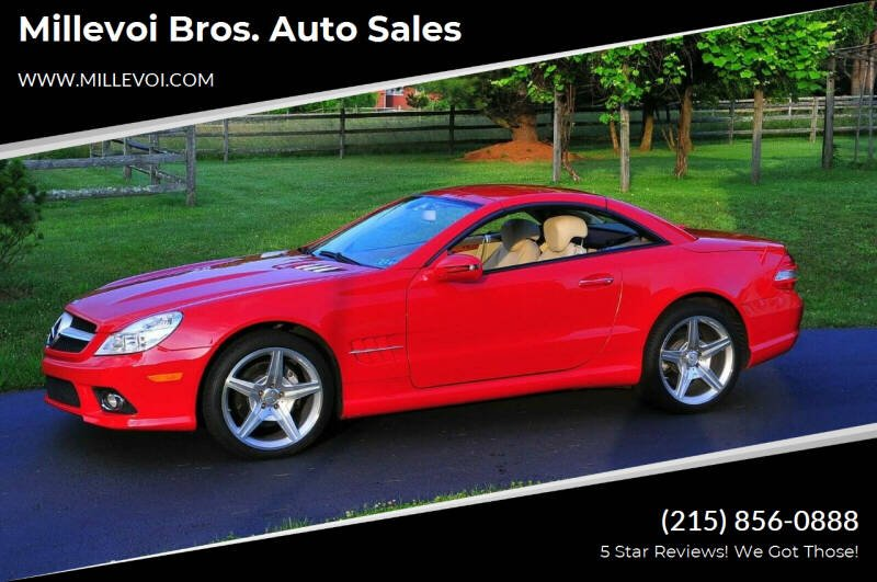 2009 Mercedes-Benz SL-Class for sale at Millevoi Bros. Auto Sales in Philadelphia PA