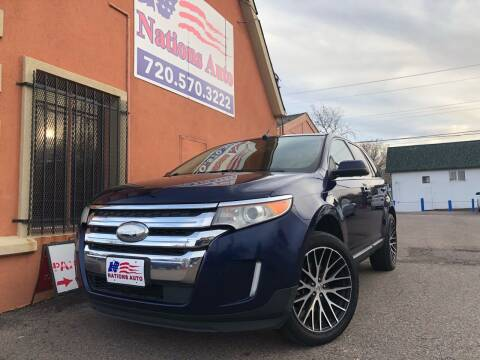 2011 Ford Edge for sale at Nations Auto Inc. II in Denver CO