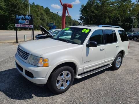 2004 Ford Explorer for sale at Let's Go Auto in Florence SC