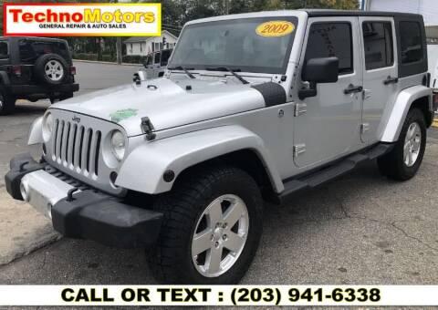 2009 Jeep Wrangler Unlimited for sale at Techno Motors in Danbury CT