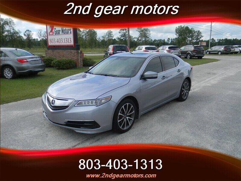 2016 Acura TLX for sale at 2nd Gear Motors in Lugoff SC