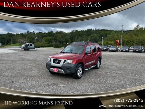 2011 Nissan Xterra for sale at DAN KEARNEY'S USED CARS in Center Rutland VT