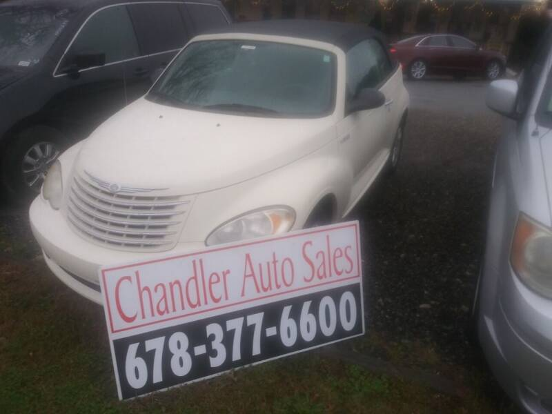 2006 Chrysler PT Cruiser for sale at Chandler Auto Sales - ABC Rent A Car in Lawrenceville GA