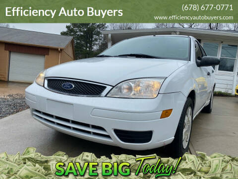 2006 Ford Focus for sale at Efficiency Auto Buyers in Milton GA