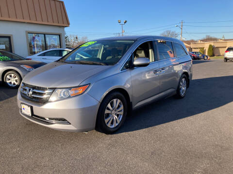 2016 Honda Odyssey for sale at Majestic Automotive Group in Cinnaminson NJ