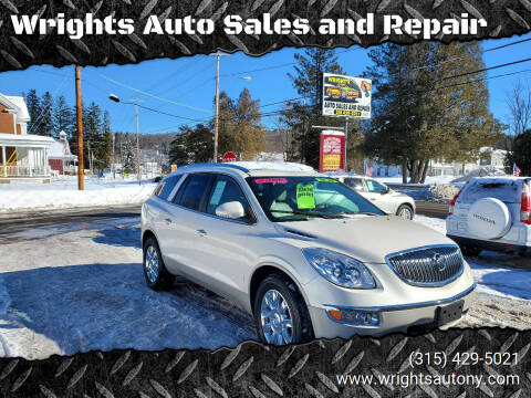 2012 Buick Enclave for sale at Wrights Auto Sales and Repair in Dolgeville NY