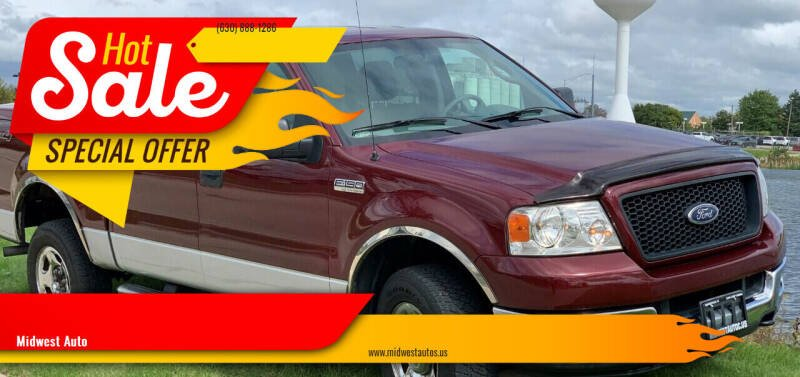 2004 Ford F-150 for sale at Midwest Auto in Naperville IL