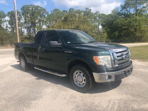 2011 Ford F-150 for sale at S & N AUTO LOCATORS INC in Lake Placid FL