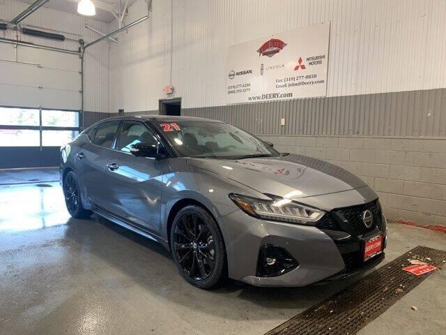 2021 Nissan Maxima for sale in Cedar Falls, IA