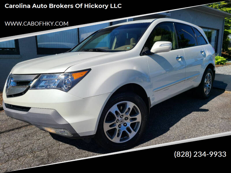 2008 Acura MDX for sale at Carolina Auto Brokers of Hickory LLC in Newton NC