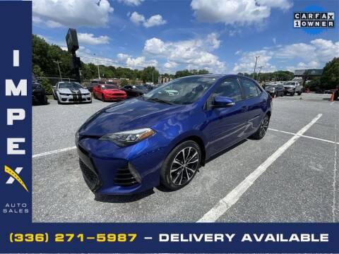 2017 Toyota Corolla for sale at Impex Auto Sales in Greensboro NC