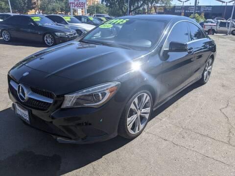 2014 Mercedes-Benz CLA for sale at Convoy Motors LLC in National City CA